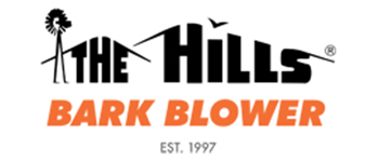 The Hills Bark Blower Logo