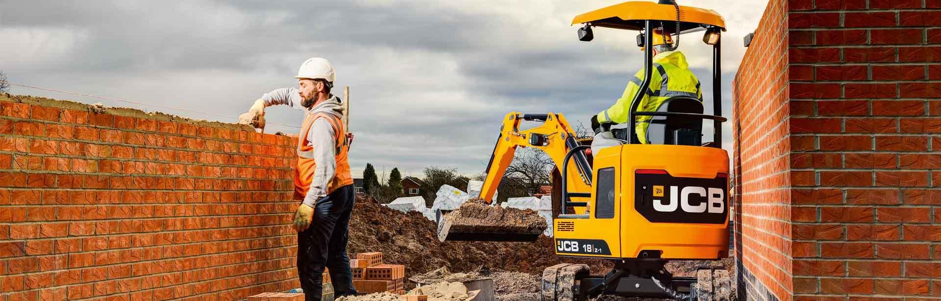 JCB 18Z Mini Excavator