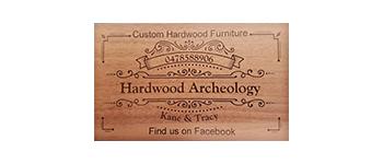 Hardwood Archeology Logo