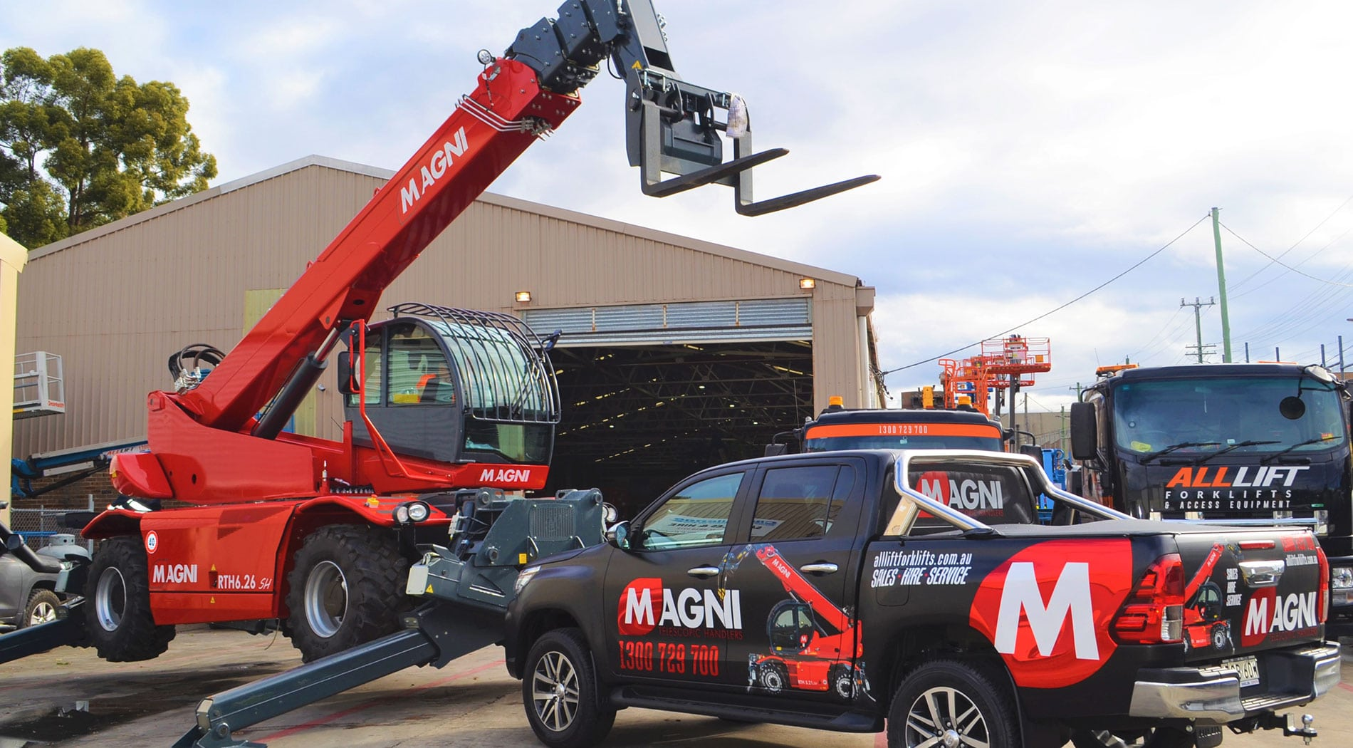 All Lift Forklifts Magni Telehandlers